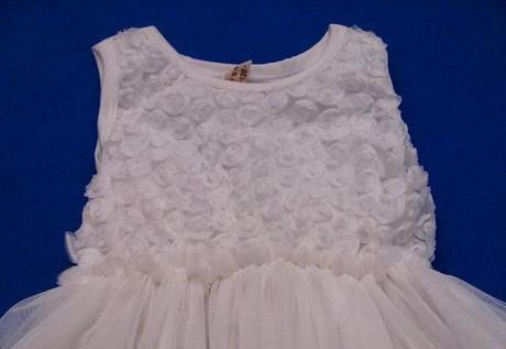 2x slavnostní šaty, na svatbu, křest, 104