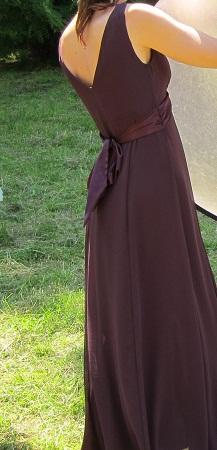 Temné fialové šaty - Camaieu, 38, 38