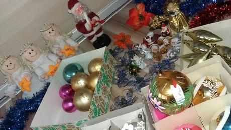retro vianočne ozdoby,