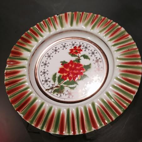 Smaltovaný tanier,