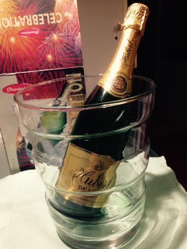 Súprava na šampanské,