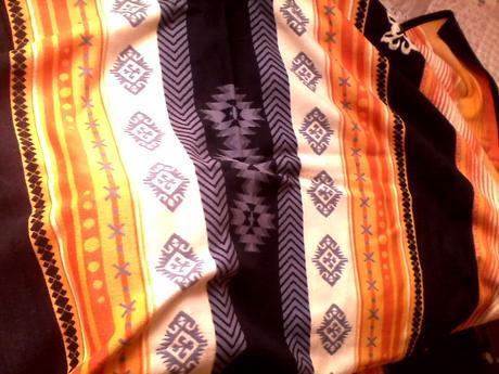 deka s norskym vzorom-obojstranna,