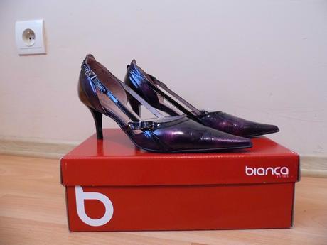 Kožené elegantné topánky, 36