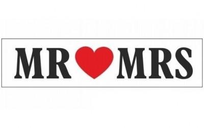 Cedule Mr love Mrs,