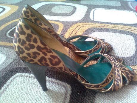Lodičky s leopardim vzorom, 40