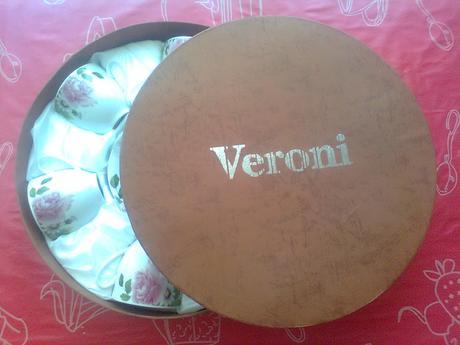 Súprava šalok 6 + 6 keramika VERONI,