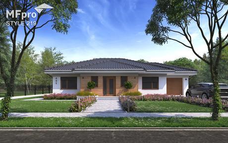 Style 219 MFpro projekt na rodinný dom,