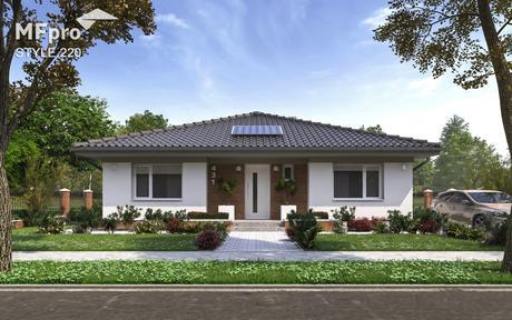 Style 220 projekt rodinného domu,
