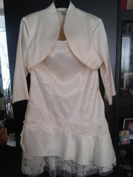 Populnocni svatební šaty- vel42, 42
