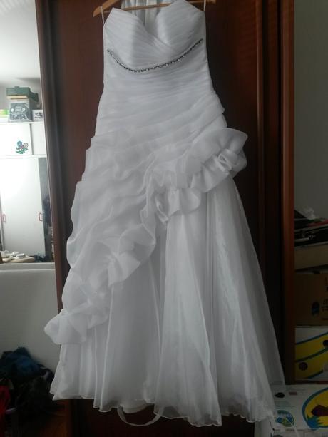 svatební šaty 42-48, 48