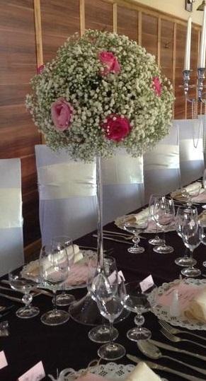 Váza martini, výška 60 cm,
