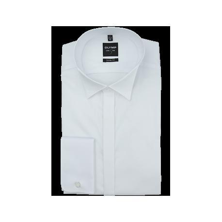 Košeľa Body Fit biela s predĺženým rukávom, 38