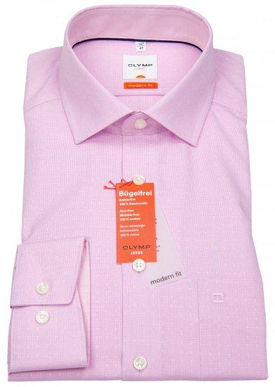 Košeľa Moder fit 1143067 ružová, 40