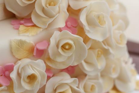 Polystyrénová torta  marcipánová 3 posch.,