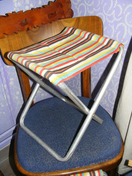 retro stolička,