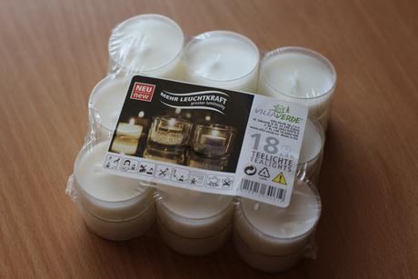 Čajové svíčky 18 ks v balení (max 3 balení),