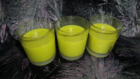 Svíčky ve skle,
