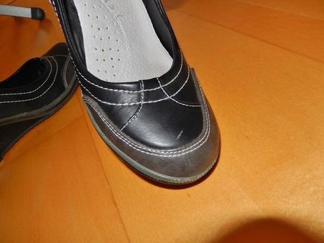 Dámské černé boty, 37