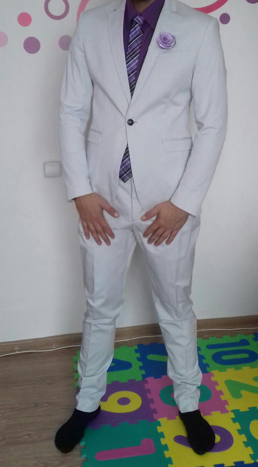 79f87d95d4 Pánský oblek značka zara man