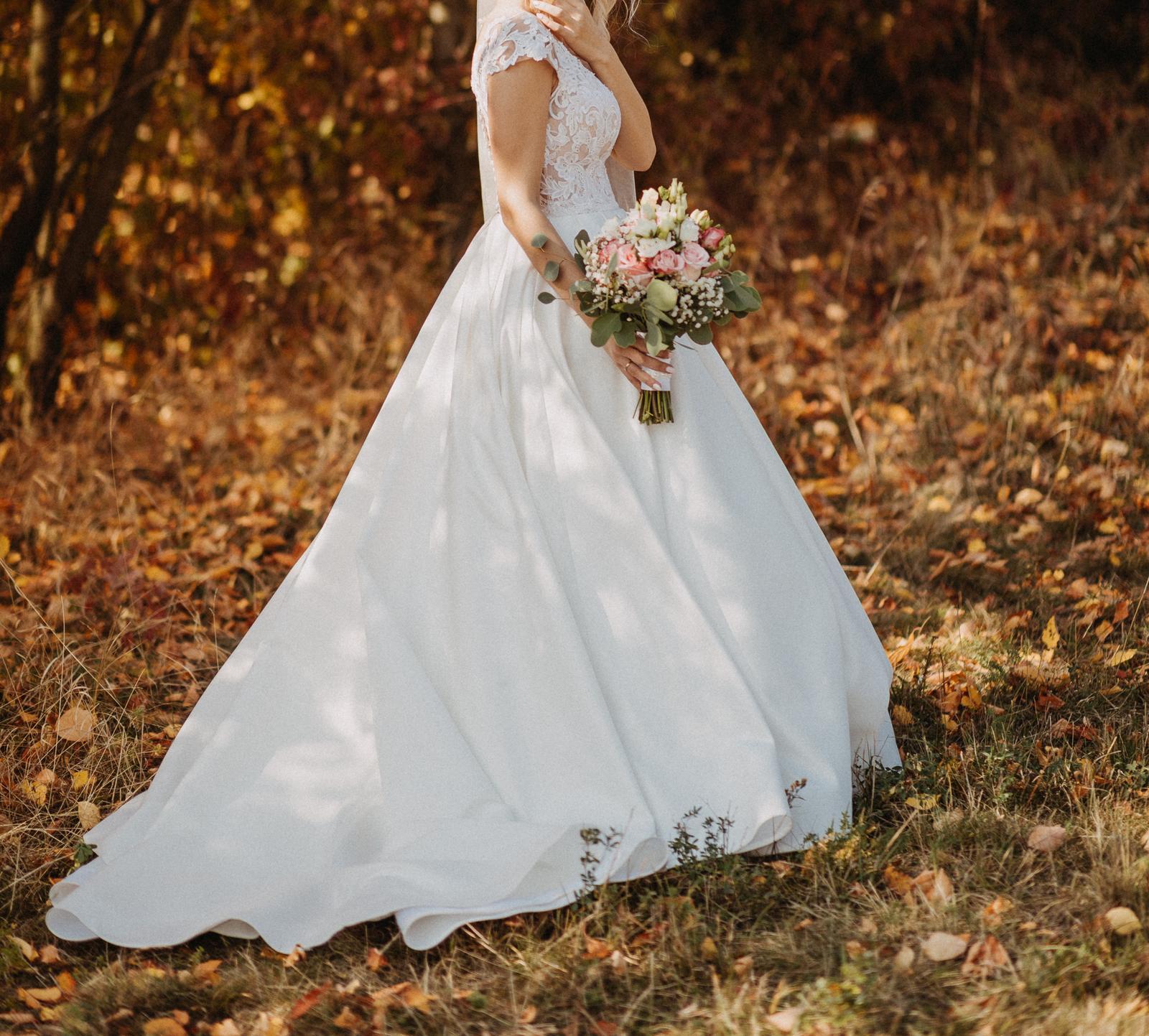 21727d95a7c9 Svadobné talianske šaty