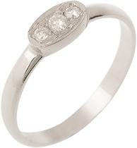 Briliantový zásnubní prsten značky Benet,