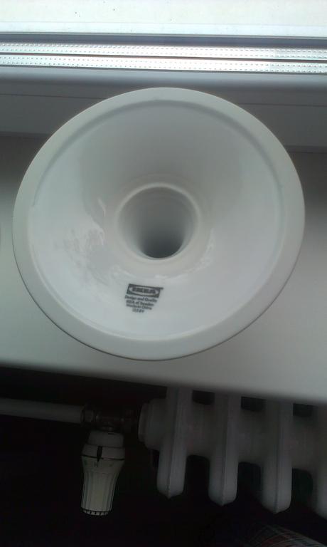 Biele porcelánové svietniky Ikea 2ks - nepoužité,