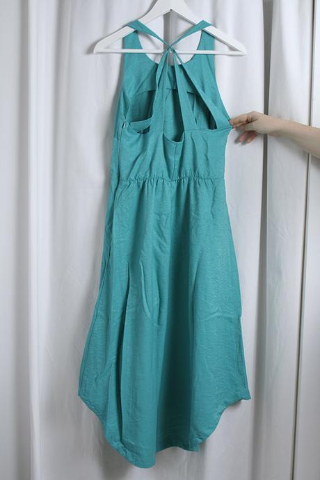 Tyrkysové šaty znač. Asos 40 - nepoužité, 40