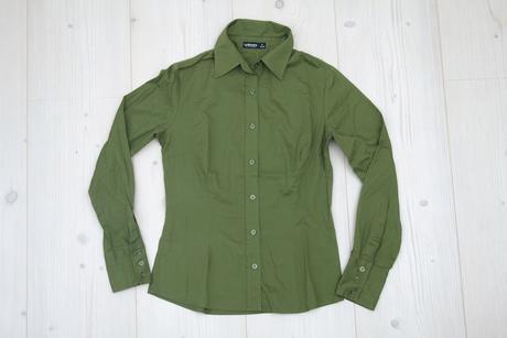 Zelená bluzka , S