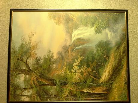 obrazy les a vodopady,