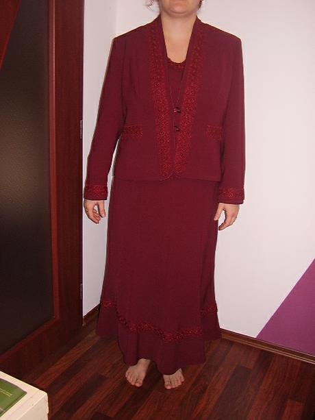 Sukňový kostým - Monika, 46