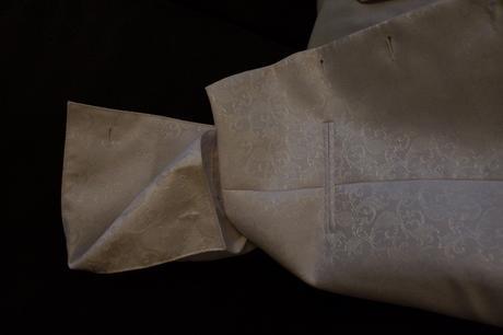 Vesta+ košeľa+kravata+vreckovka, 56