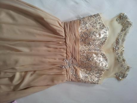 spoločenské dlhé šaty + náušnice, 40