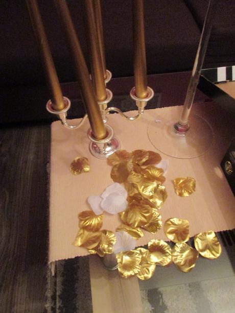 Zlaté a biele lupene,