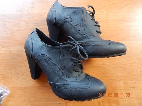 koženkové topánky, 38