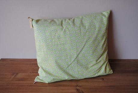 zelená obliečka na vankúše,