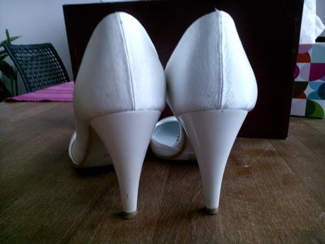 Svatební střevíčky zn. Peccini , 37