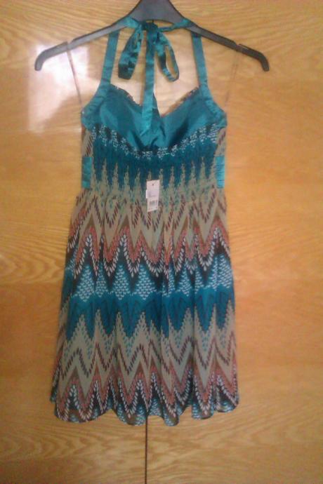 Farebné šaty, 38