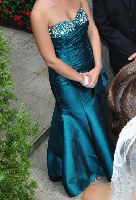 Elegantné dlhé šaty, 36