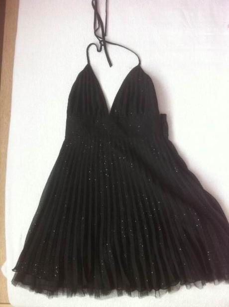 Šaty Lipsy - nenosené, s jemnými trblietkami, 38