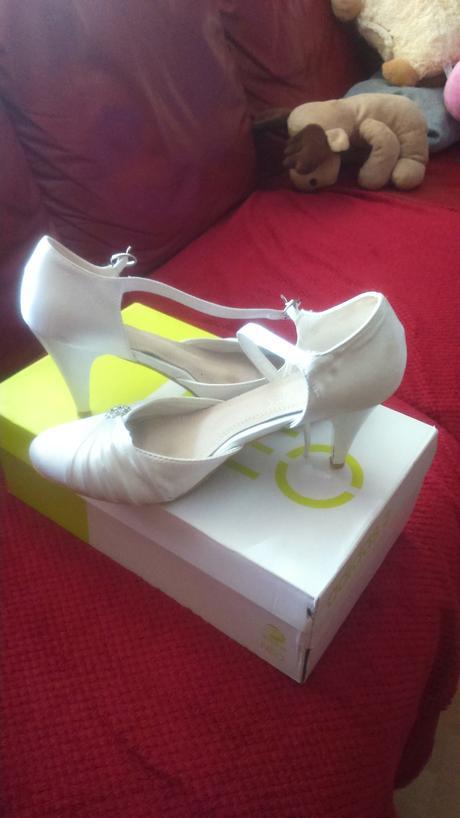 Svadobné boty 40 - 41, 41