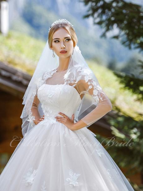 Svadobné šaty - Model 1060, 36