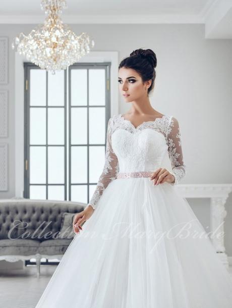 Svadobné šaty - Model 986, 36
