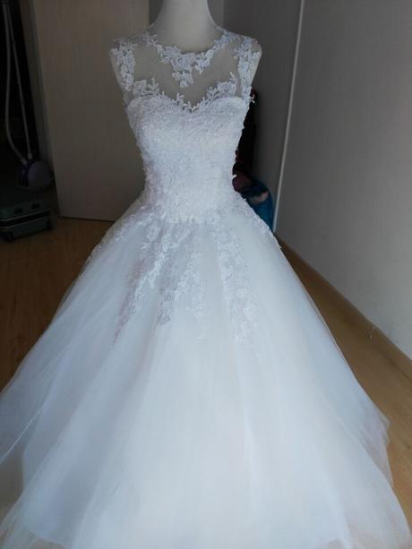 číslo 36 svadobné šaty, 38