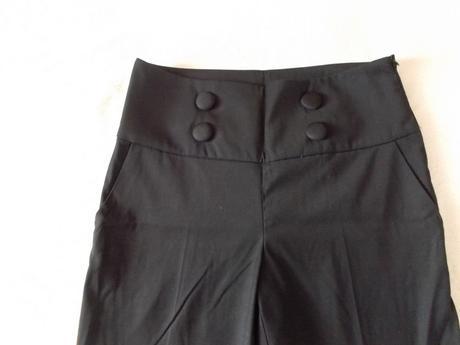 high waisted kalhoty, 38