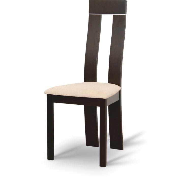 016b0d5d50f6 Jedálenská stolička z masívneho dreva - wenge