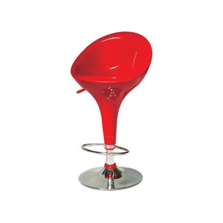 Barová stolička alba-biela, červená, čierna,