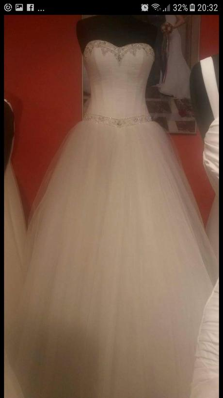 tylové svadobné šaty 36-39, 36