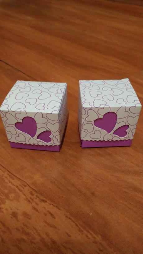 Krabičky na sladkosti,