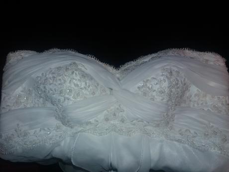 Svatební šaty ivory, 48