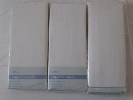 biele plachty 90x200cm,